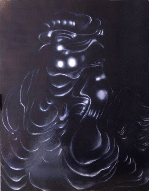 Still Life Four 2012. 96 x 122 cm. Oil on board