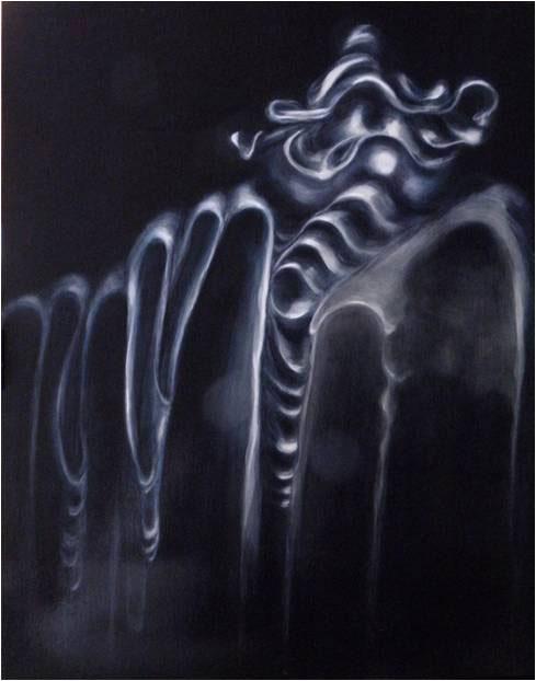 Still Life Three 2012. 96 x 122 cm. Oil on board