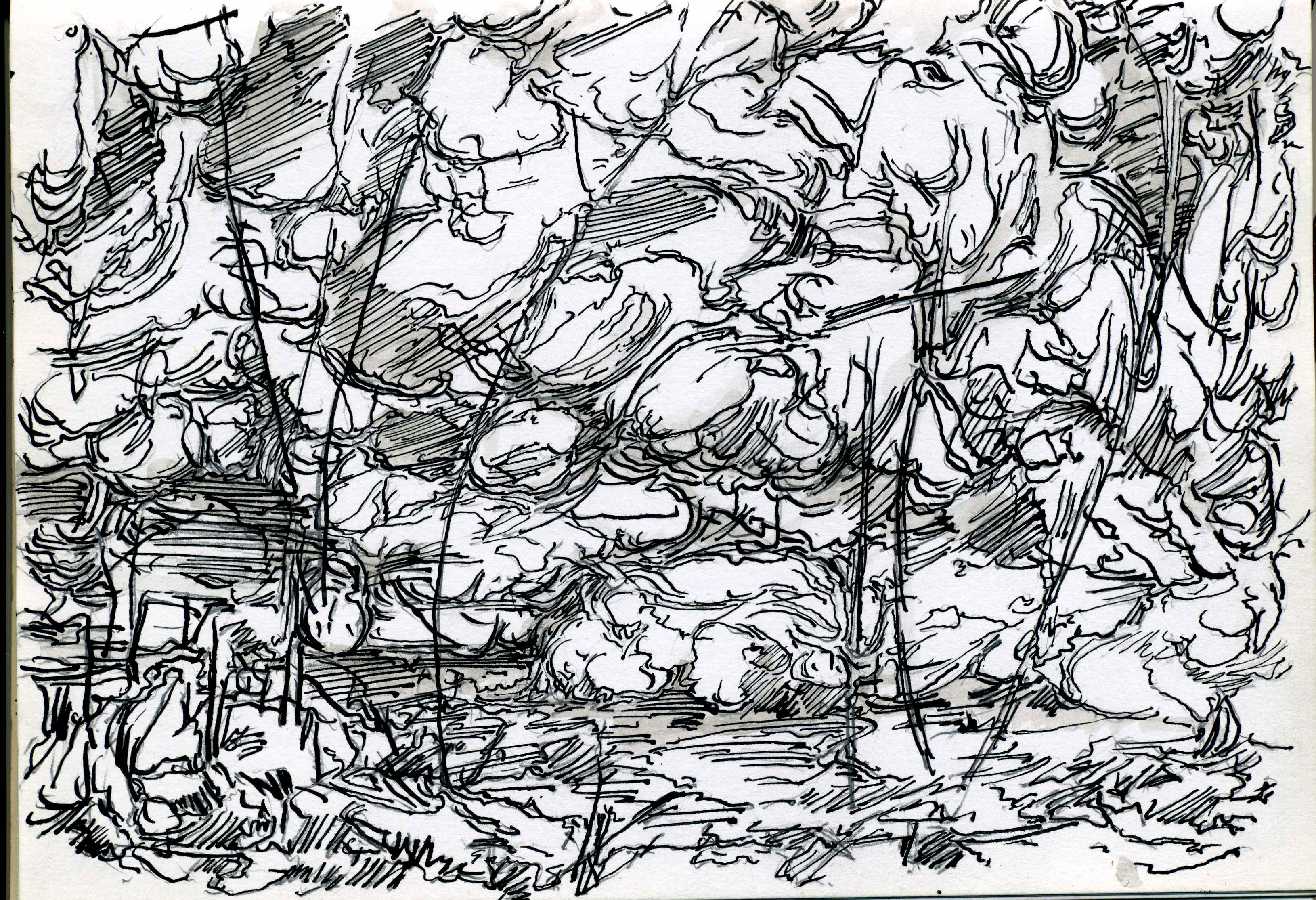 Drawings: Landscapes/ The Weald Of Kent 2011