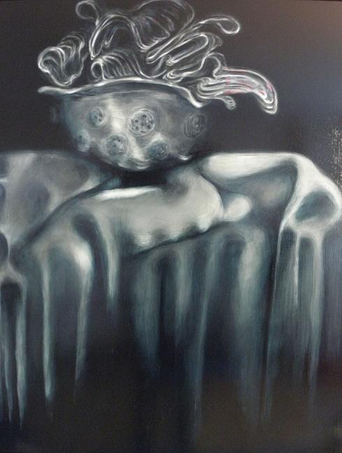 Still Life One 2012. 96 x 122 cm. Oil on board
