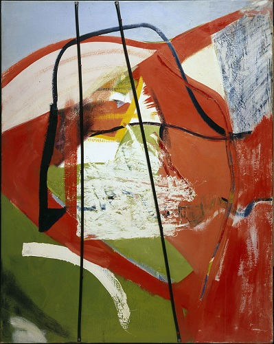 Peter Lanyon: 'Glide Path', 1964. 1540 x 1220mm. Oil and plastic on canvas