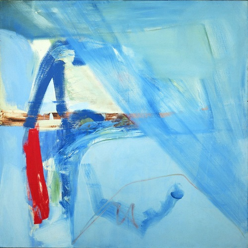Peter Lanyon: 'Soaring Flight', 1960. 1024x1024mm. Oil on Canvas